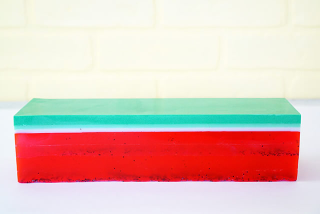 sabonete artesanal de melância