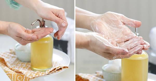 como fazer sabonete líquido