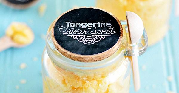 esfoliante de açúcar finalizado