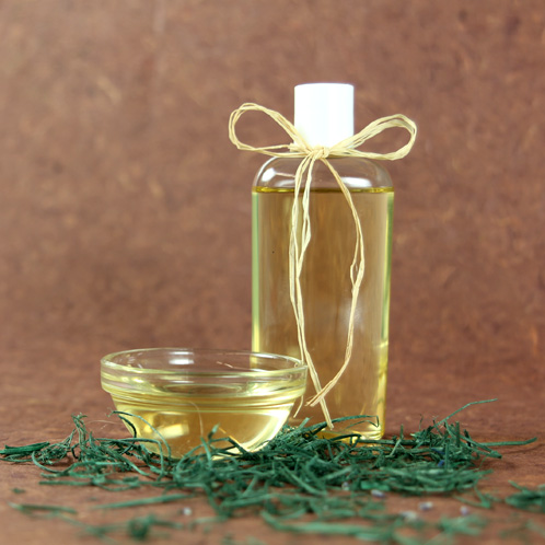 óleo de bebê caseiro
