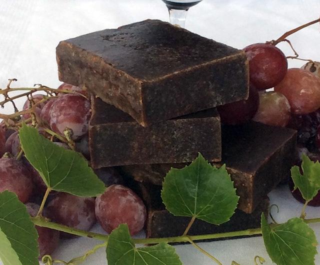 sabonete artesanal de vinho