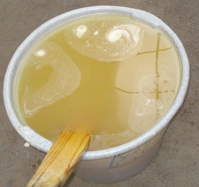 receita sabão líquido
