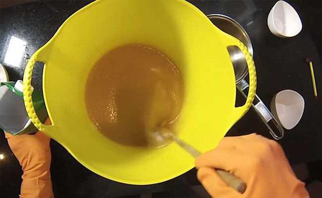 como fazer sabão de álcool