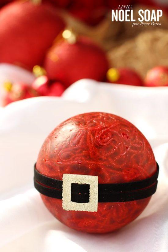 sabonete em esfera