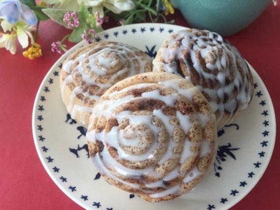 sabonete artesanal - bolo de canela