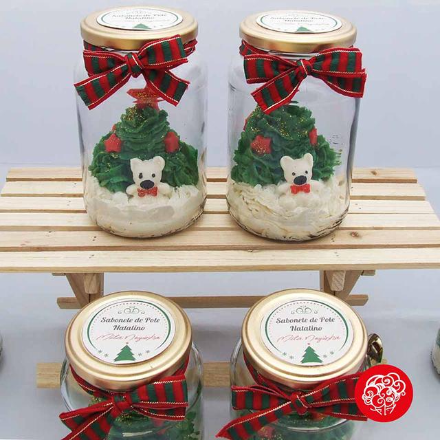 sabonete de colher natalino