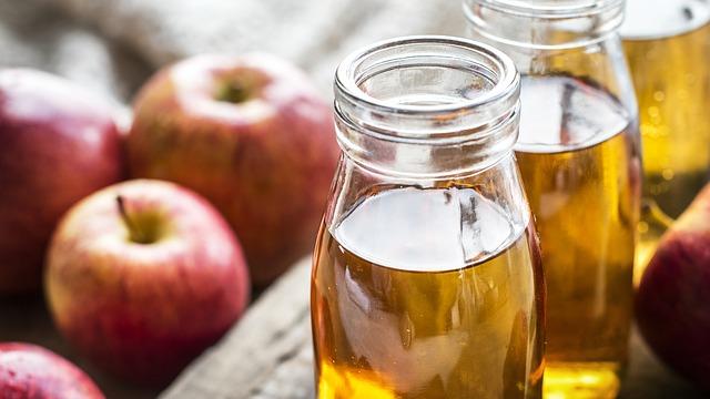 tônico facial de vinagre de maçã