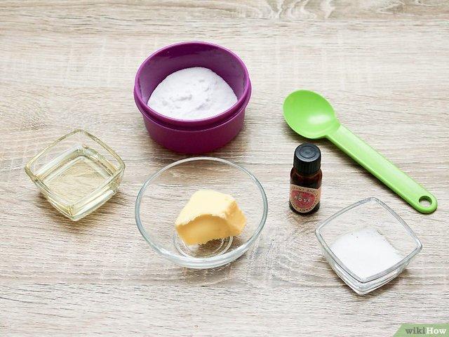 Ingredientes para fazer um desodorante vegano