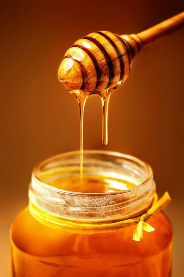 óleo de rícino com mel